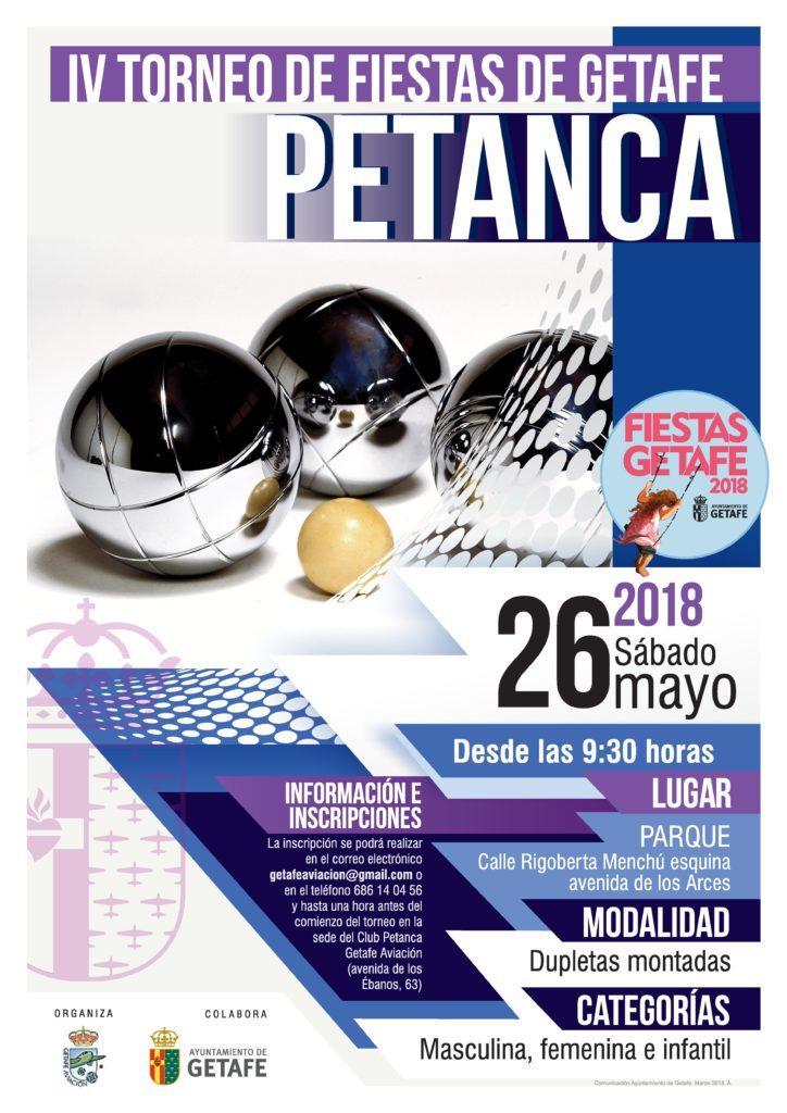 Torneo de Fiestas de Getafe Petanca