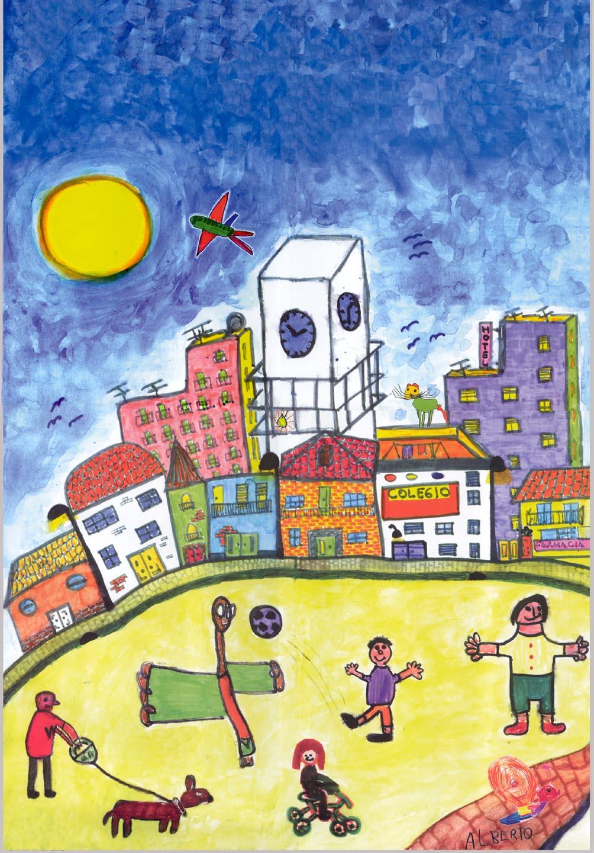 Exposición pintura infantil