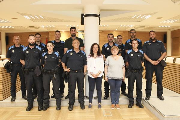 Nuevos agentes Policía Local