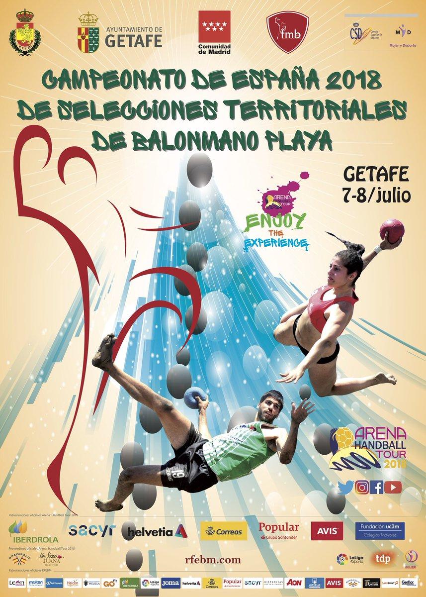 Campeonato España 2018 de Selecciones Territoriales de Balonmano Playa