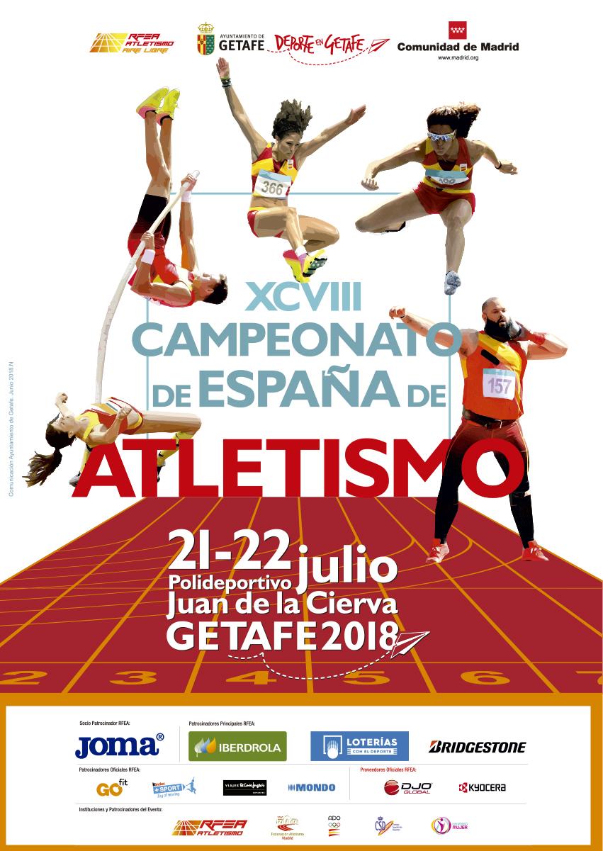 Campeonato de España de Atletismo 2018