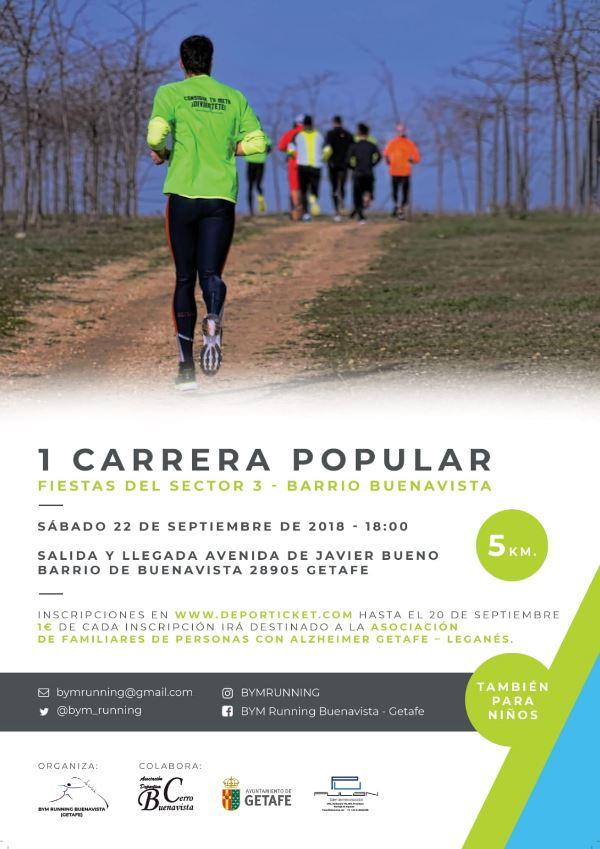 1ª Carrera Popular Fiestas del Sector 3 - Barrio Buenavista