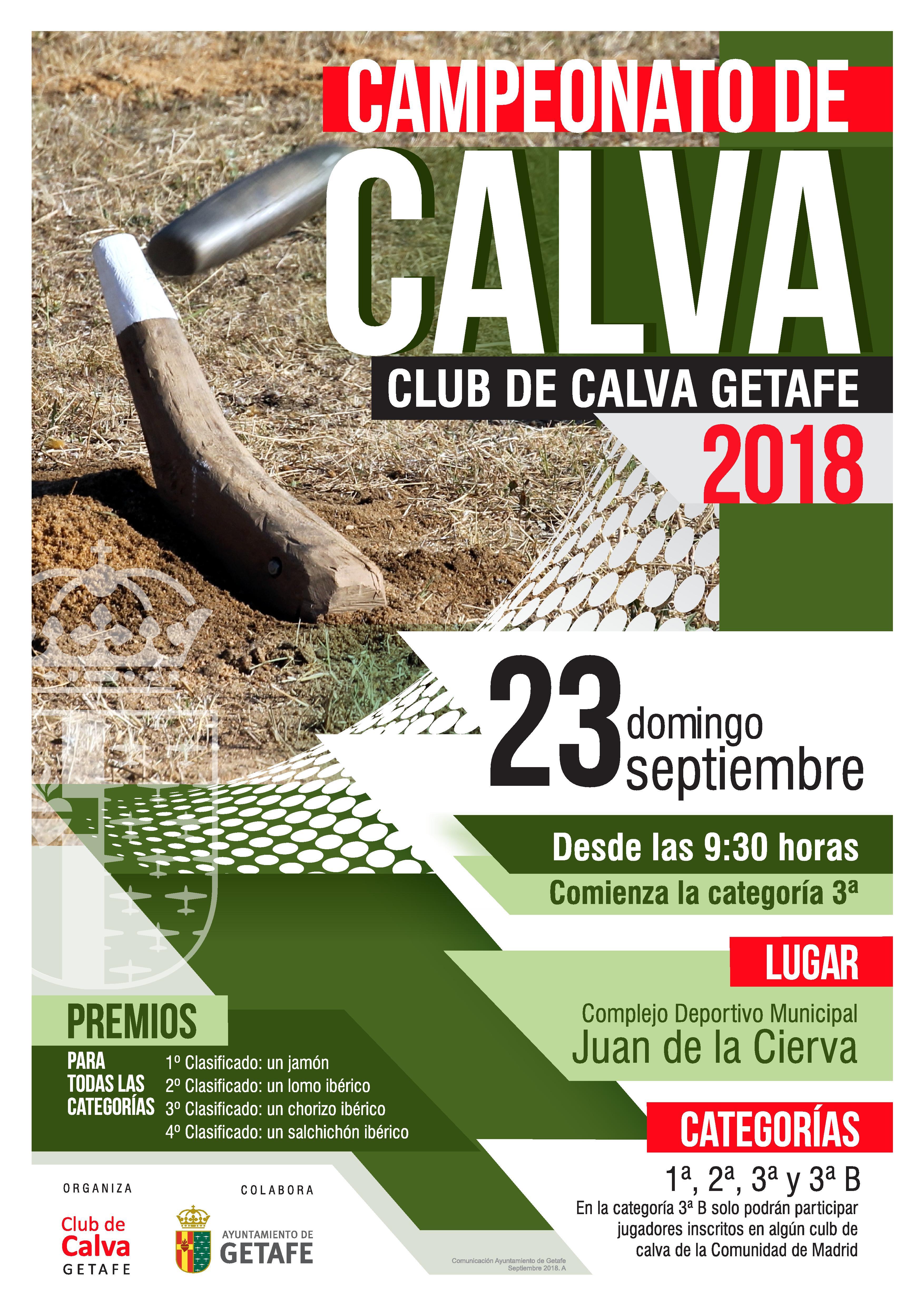 Campeonato de Calva Club de Calva Getafe