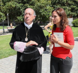 Sara Hernández y Juan Romo