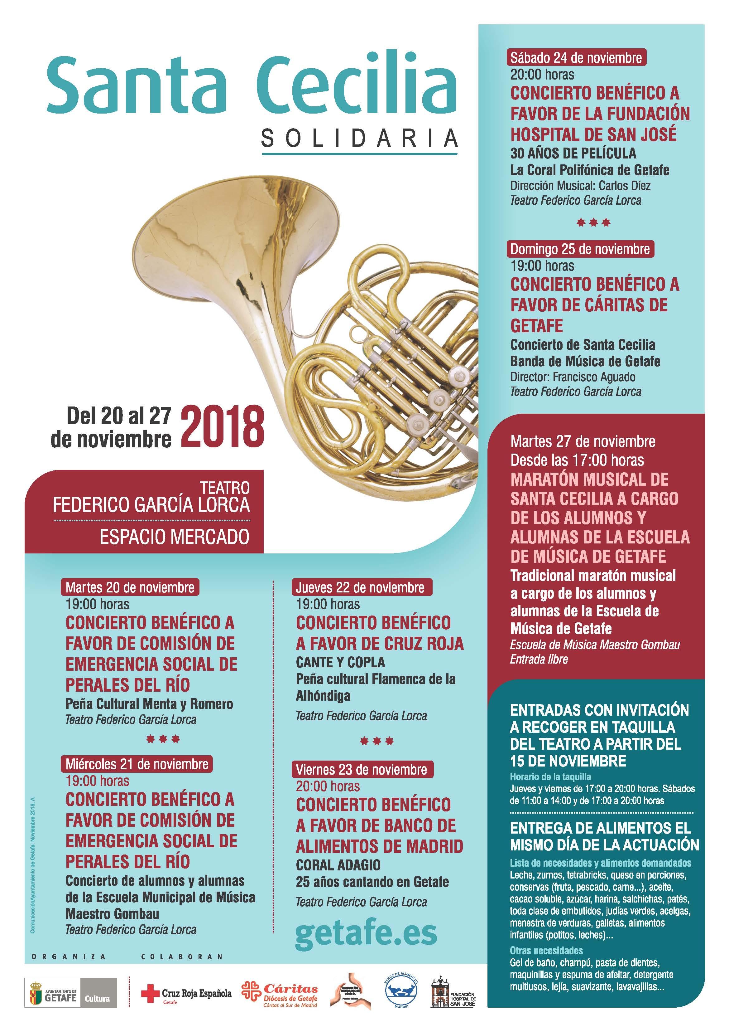 Santa Cecilia 2018