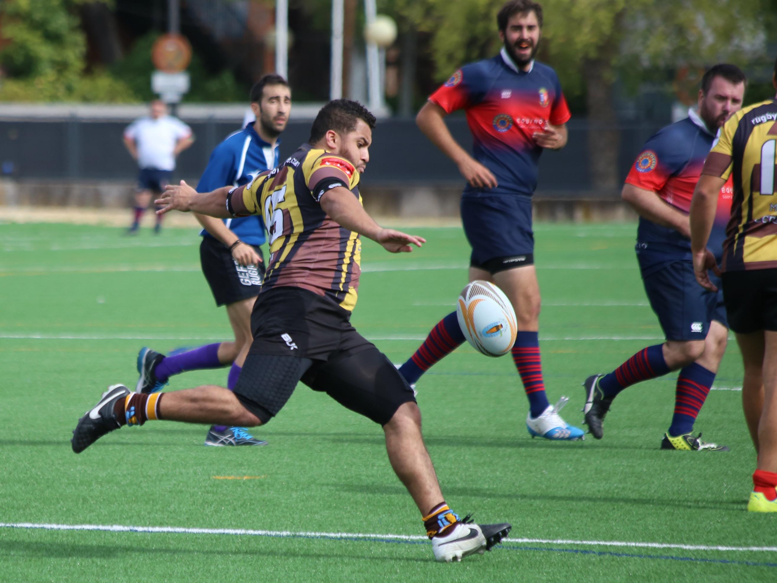 Liga Autonómica de Rugby 2018-2019, 1ª Regional, Jornada 15, Getafe Club de Rugby - Liceo Francés B