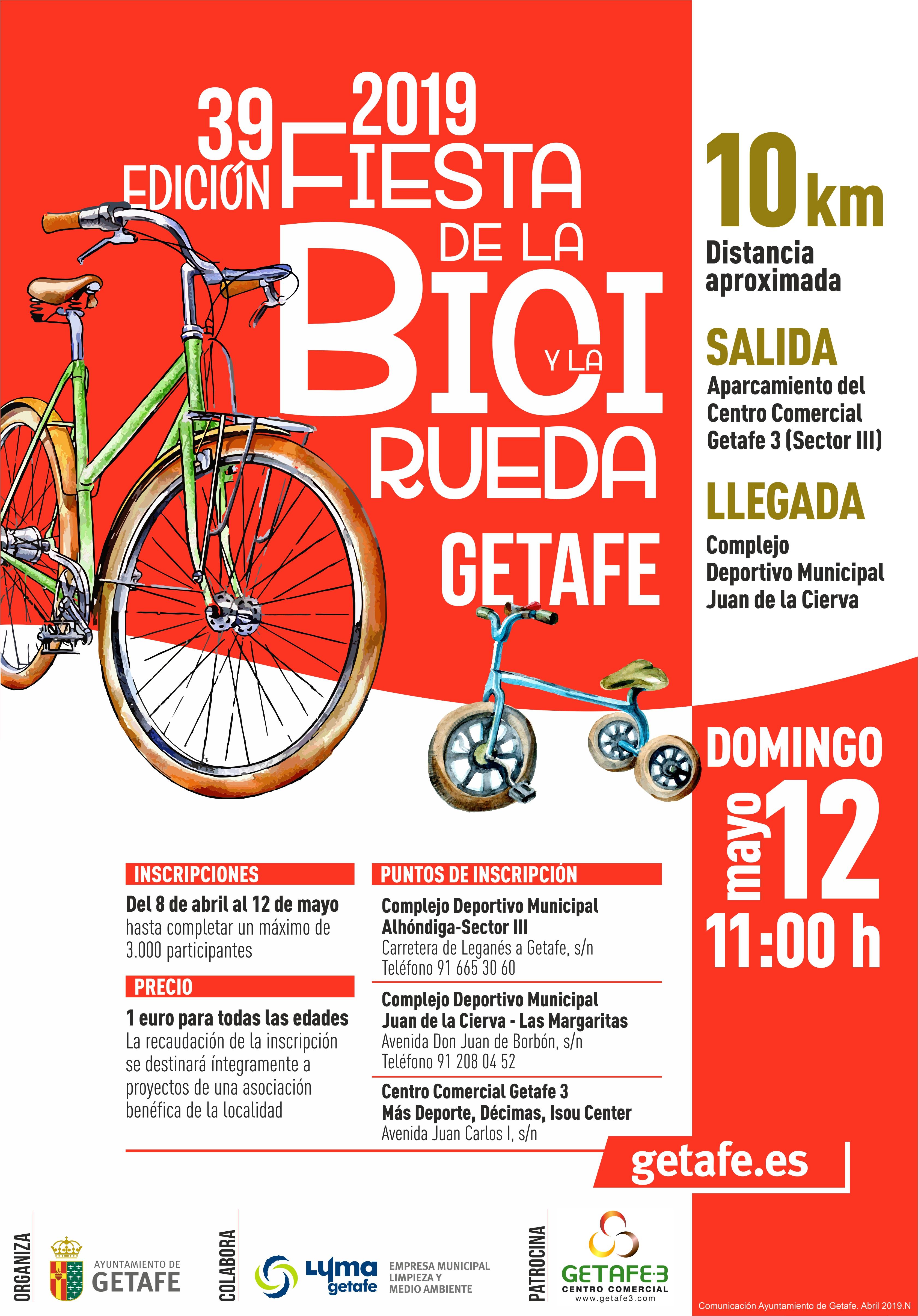 Fiesta Bicicleta Rueda