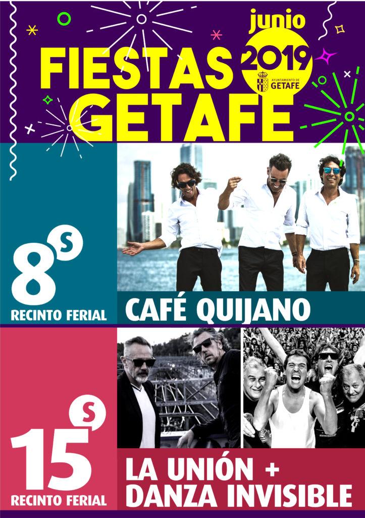 Conciertos Fiestas Getafe 2019