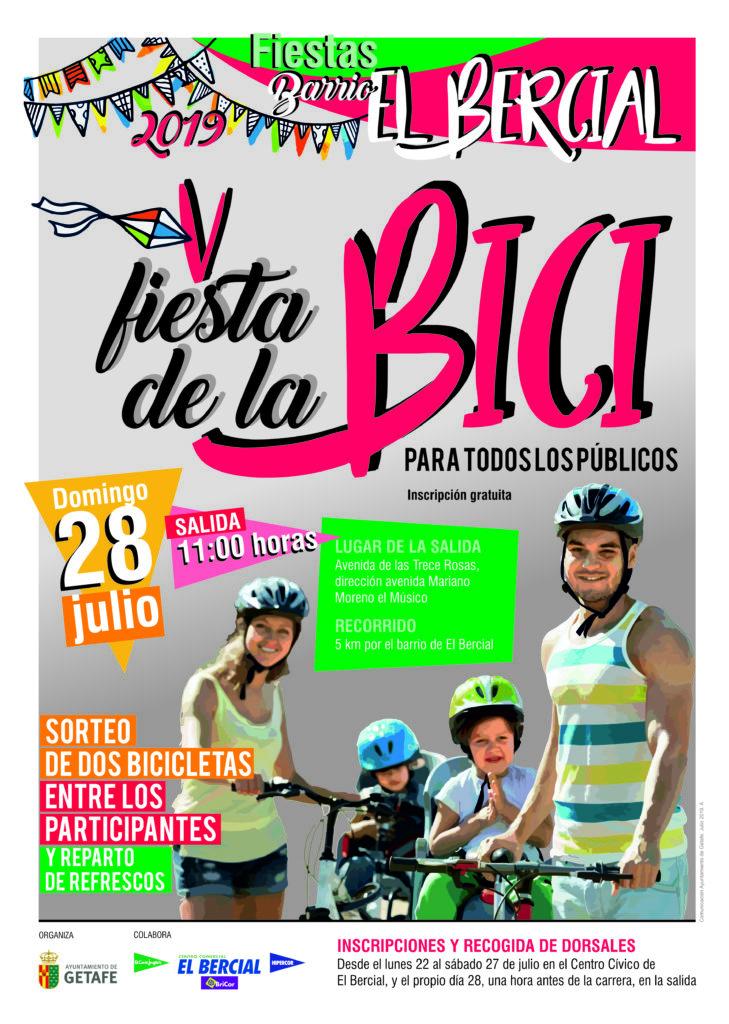 Fiesta bici El Bercial