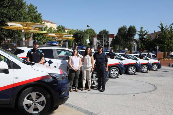 Nuevos coches Policía Local