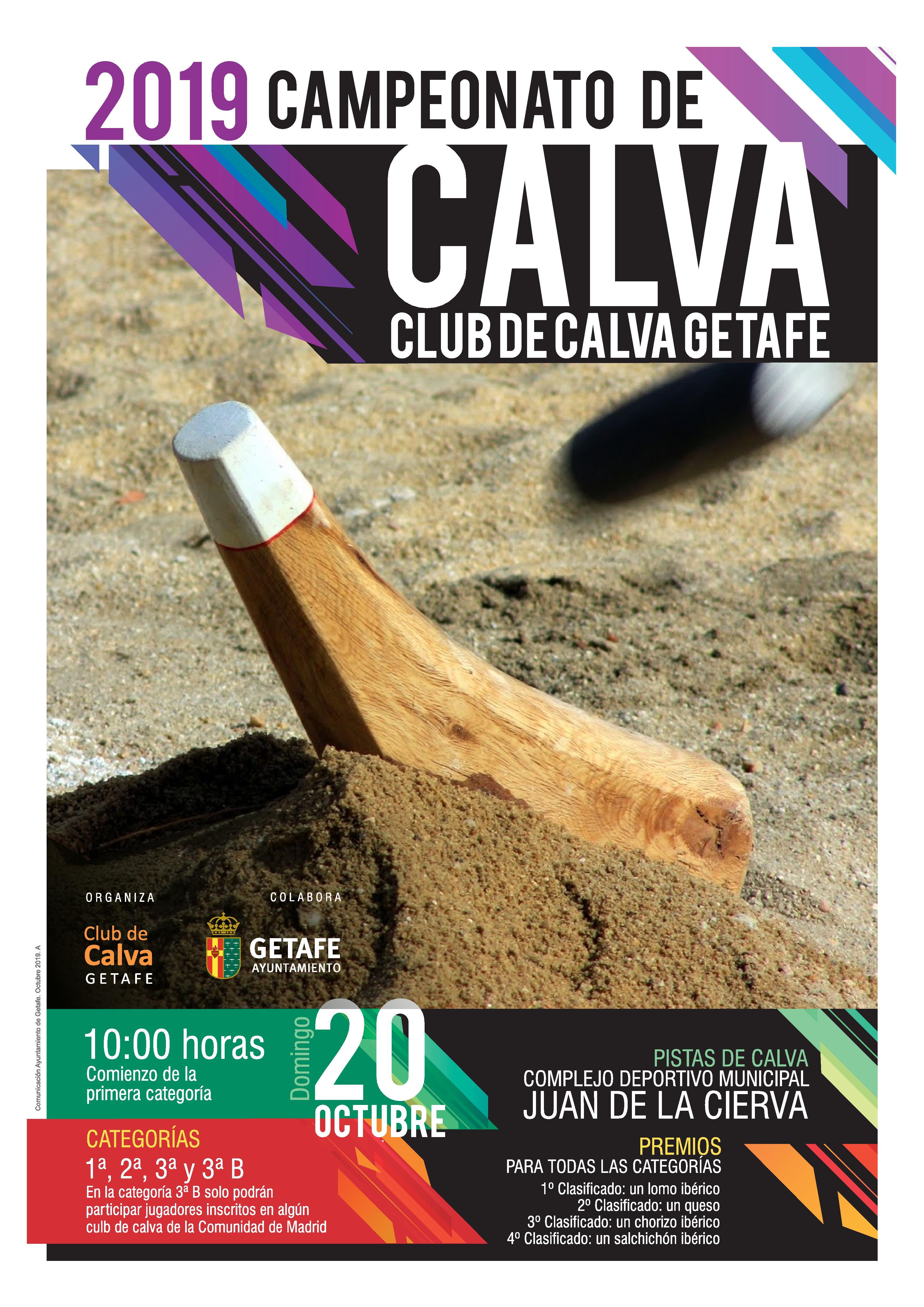 "Campeonato de Calva ""Club Calva Getafe"" 2019"