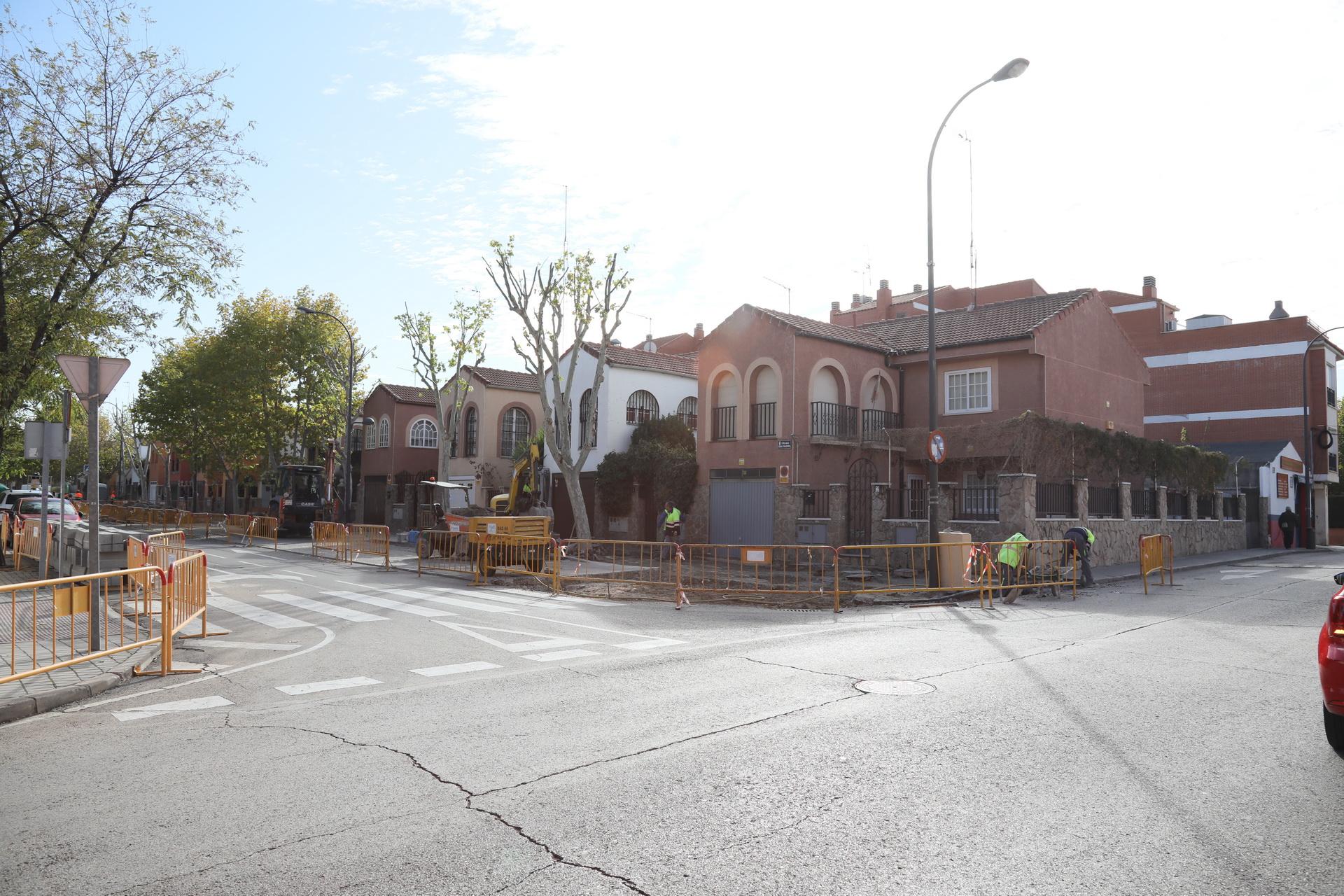 Obras calle Juan Francés