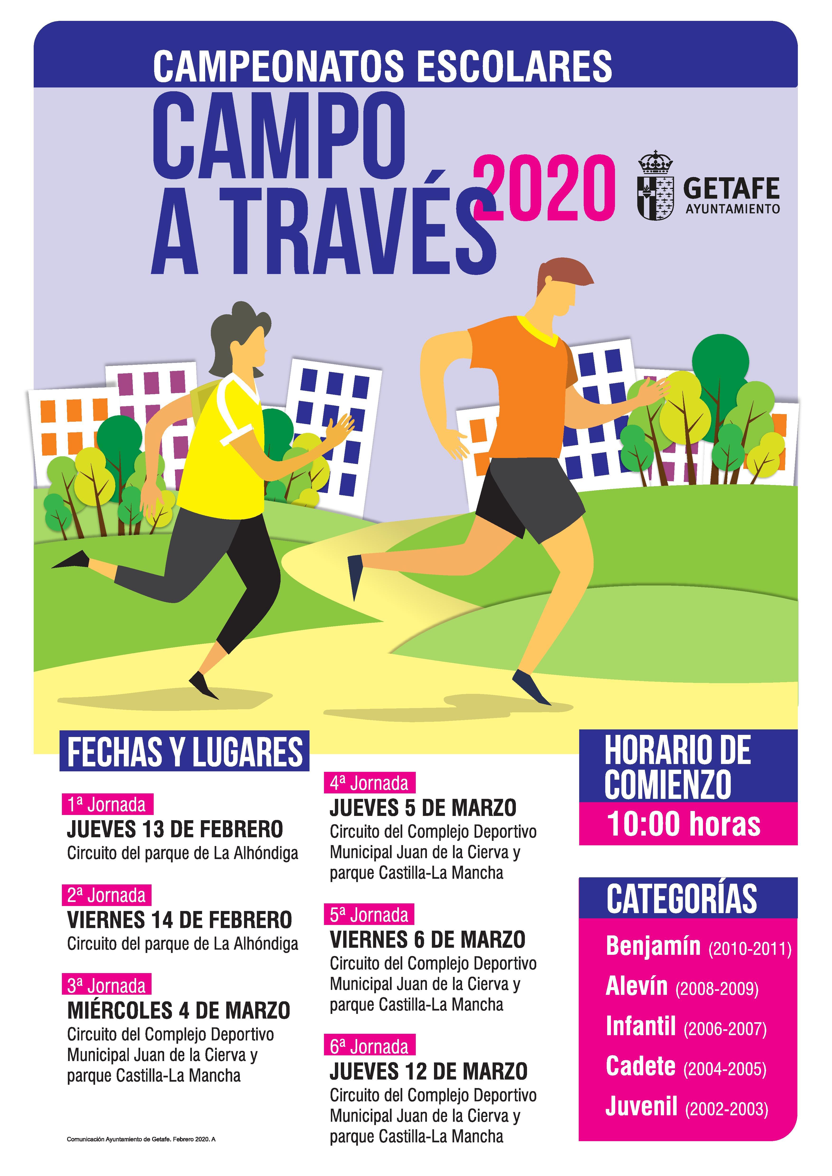 Campeonatos Escolares de Campo a Través 2020 (2ª Jornada)