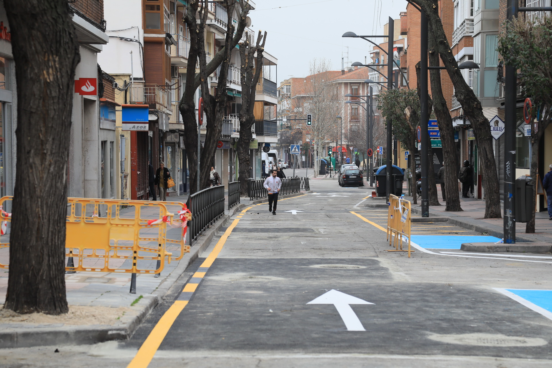 obras calle Jardines
