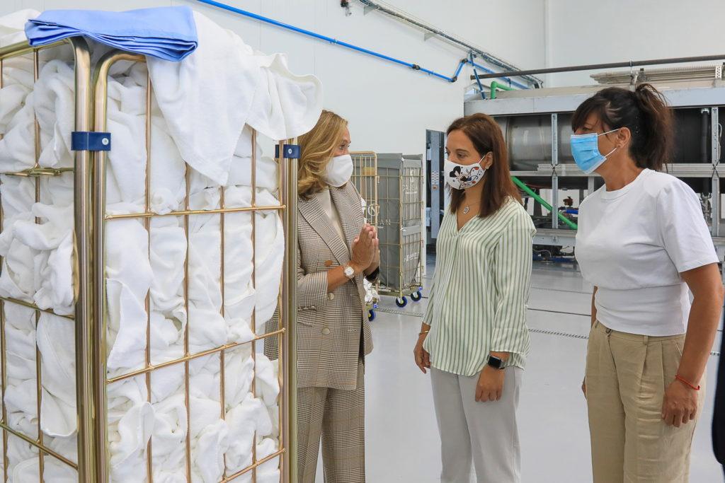 Visita lavandería industiral Carsan