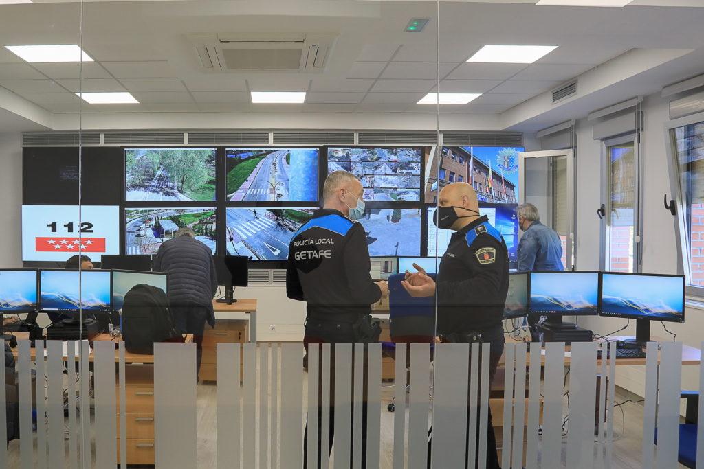 Sala de Comunicaciones Policía Local