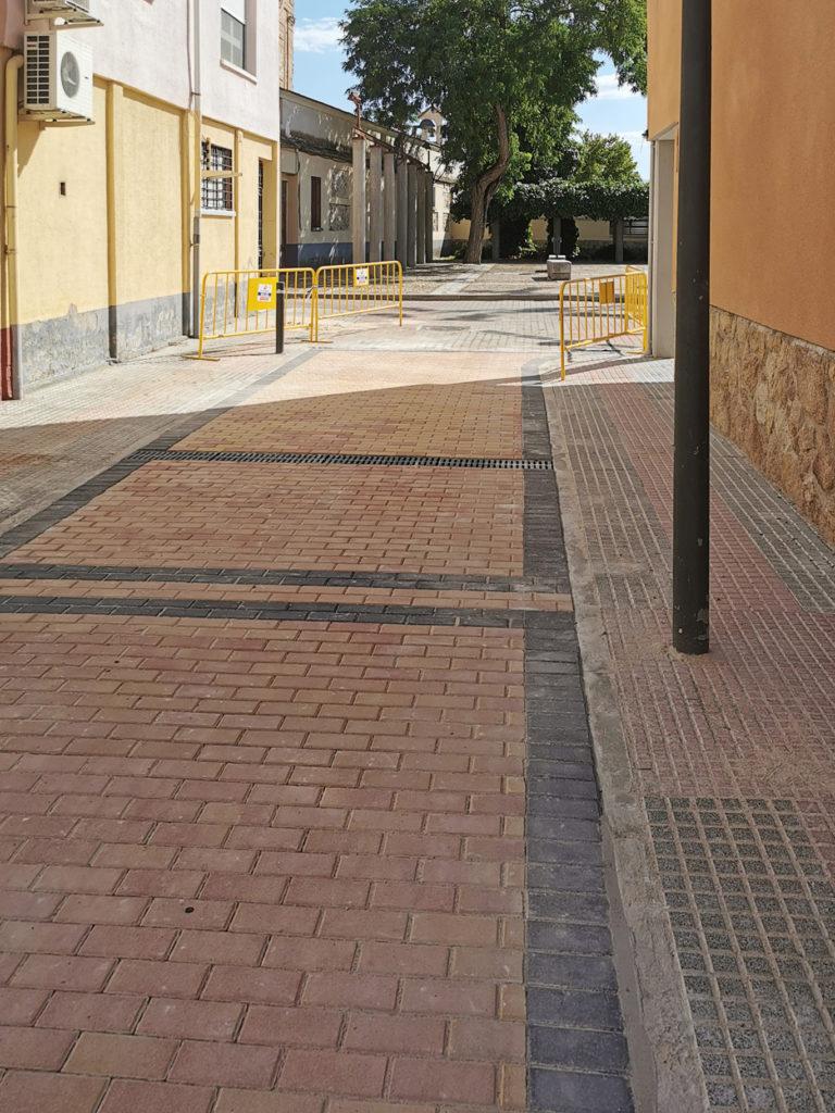 mejora accesibilidad Caserío Perales del Río